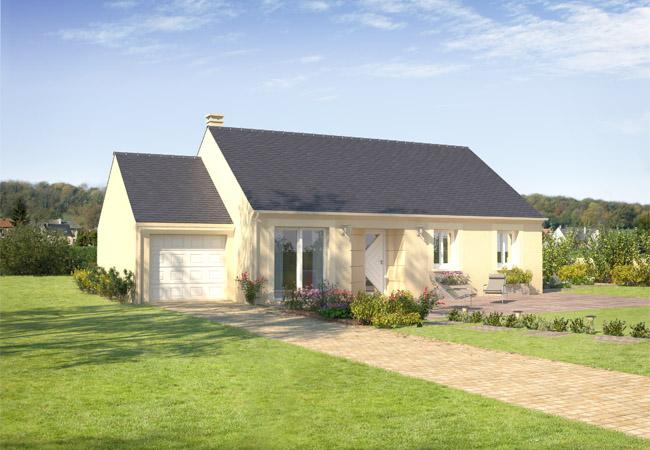 nouvelle maison bleuet constructeur de maisons individuelles maisons ctvl. Black Bedroom Furniture Sets. Home Design Ideas
