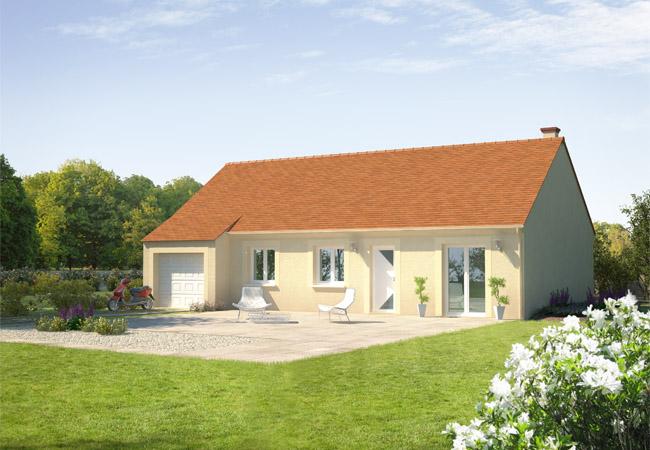 Nouvelle maison capucine constructeur de maisons for Constructeur maison individuelle dreux